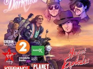 The Darkness's new single, Heart Explodes, playlisted on Radio 2